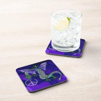 Peace Dragon Drink Coaster