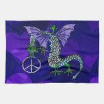 Peace Dragon Hand Towel