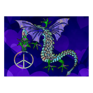 Peace Dragon Large Business Cards (Pack Of 100)