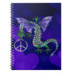 Peace Dragon Notebooks