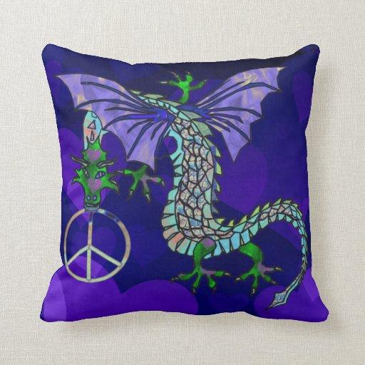 Peace Dragon Pillows