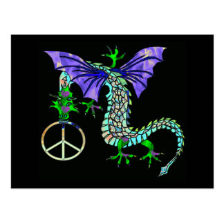 Peace Dragon Postcard