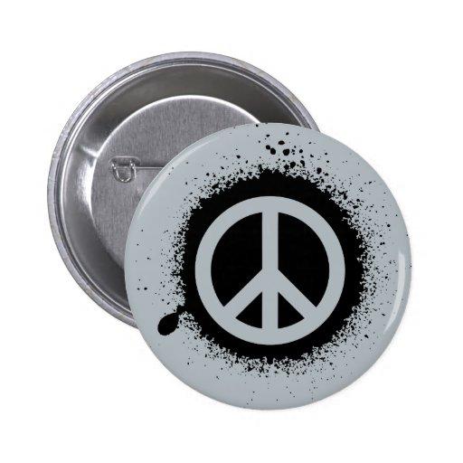 Peace drip pins