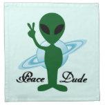 Peace Dude Cloth Napkins