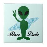 Peace Dude Tile