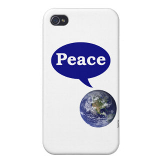 Peace Earth iPhone 4/4S Cases