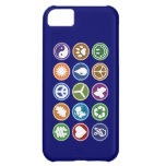 Peace & Eco Symbols iPhone 5C Cases