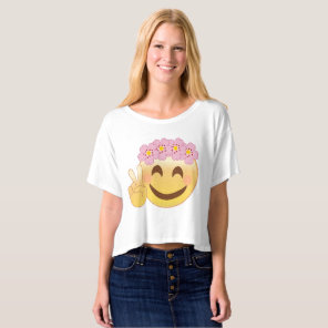 Peace emoji t-shirt