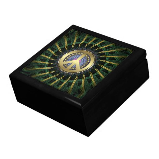 Peace Energy Spiral Jewellery Gift Box