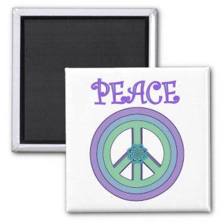 Peace & Enlightenment Lotus Magnet