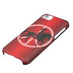 peace equestrian iPhone 5C cases