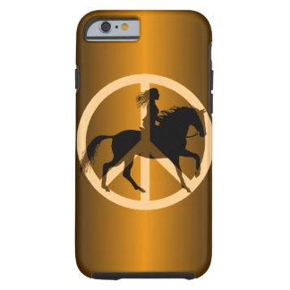 peace equestrian iPhone 6 case