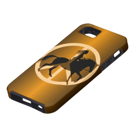 peace equestrian iPhone SE/5/5s case