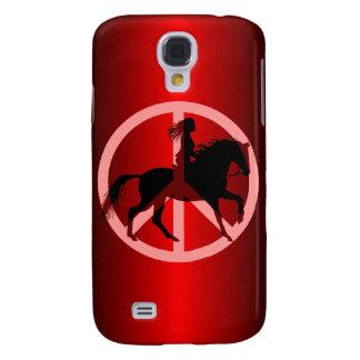 peace equestrian samsung s4 case