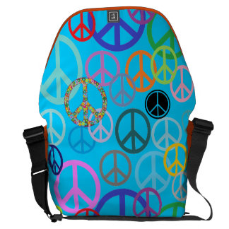 Peace Everywhere Courier Bags