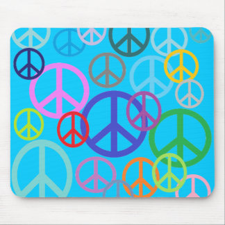 Peace Everywhere Mouse Pad