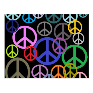 Peace Everywhere Postcard