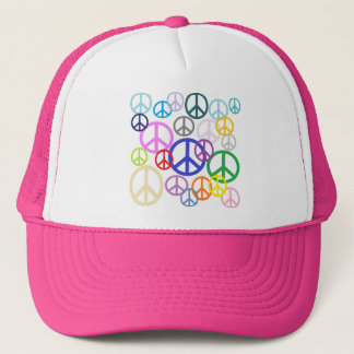 Peace Everywhere Trucker Hat
