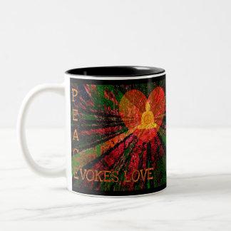 Peace Evokes Love Mug