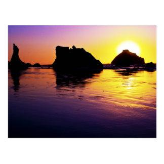 Peace - Face Rock, Bandon, Oregon Post Card