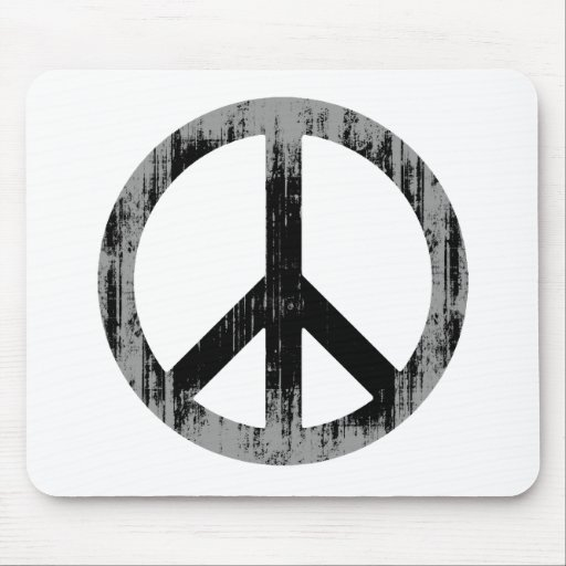 PEACE Faded.png Mousepad