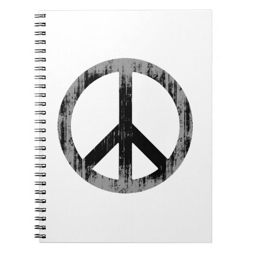 PEACE Faded.png Note Book