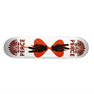 Peace Fingers Skateboard Deck