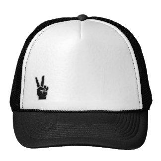 Peace Fingers Trucker Hat