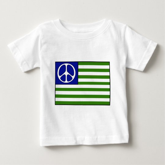 Peace Flag Baby T-Shirt