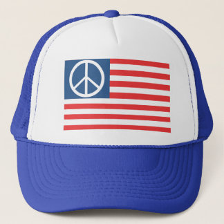 Peace flag hat