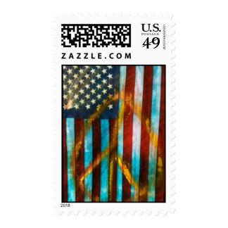 Peace Flag Stamps