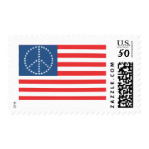 Peace Flag stamp