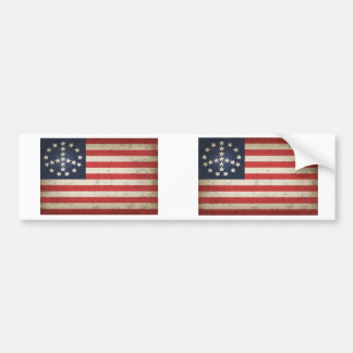 Peace Flag -xdist Bumper Sticker