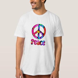 Peace Flamingo Splash Tshirt