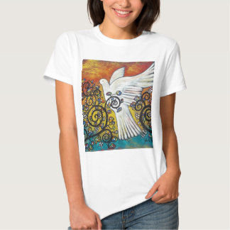 Peace Flew In T-shirts