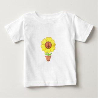 Peace Flower Baby T-Shirt