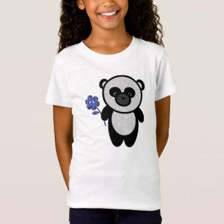 Peace Flower Panda T-Shirt