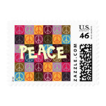 Peace & Flower Power Stamps