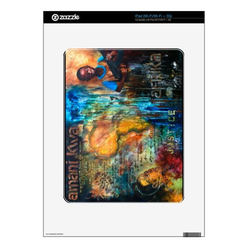 Peace for Africa Skin For iPad