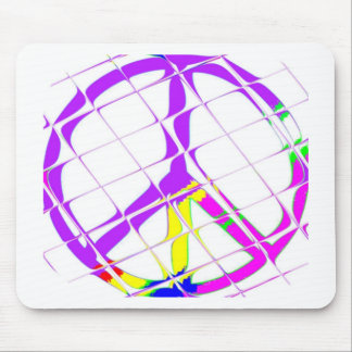 Peace for all mouse pad