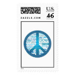 Peace for All Postage