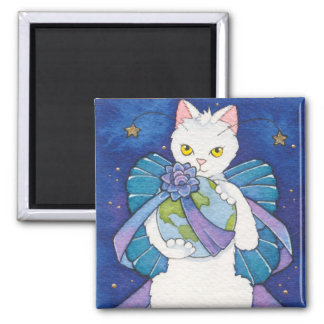 Peace for Christmas 2 Inch Square Magnet