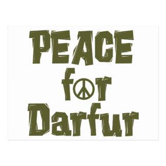 Peace For Darfur 1 Postcard
