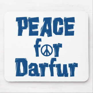 Peace For Darfur 2 Mouse Pad