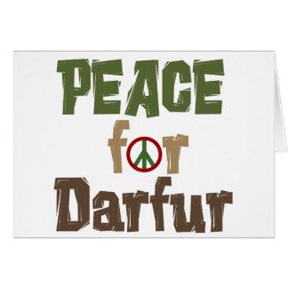 Peace For Darfur 3 Card