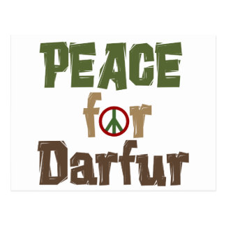 Peace For Darfur 3 Postcard