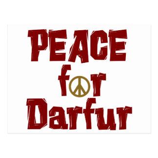 Peace For Darfur 4 Postcard