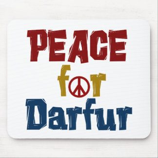 Peace For Darfur 5 Mouse Pad