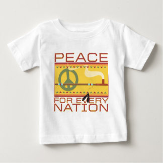 Peace for Every Nation Baby T-Shirt