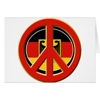 Peace for Germany Card
